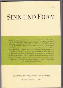 Sinn & Form III