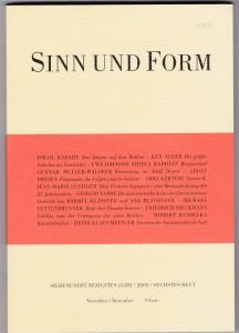 Sinn und Form II