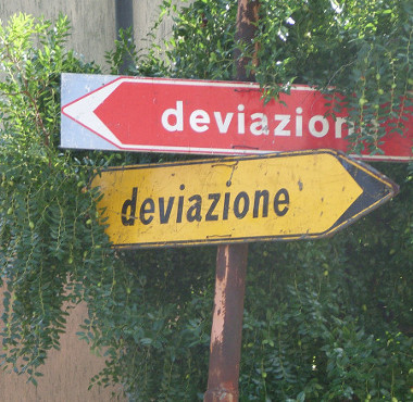 deviazione